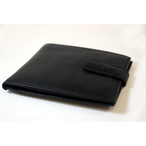 Peterson 194 Leather Black Wallet (PP005)