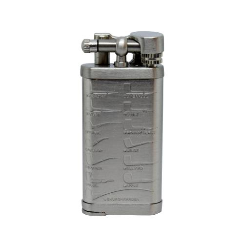 Passtore Leonard Nickel Flint Pipe Lighter