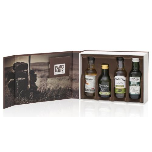 Peated Malts Of Distinction - 4x5cl Miniset