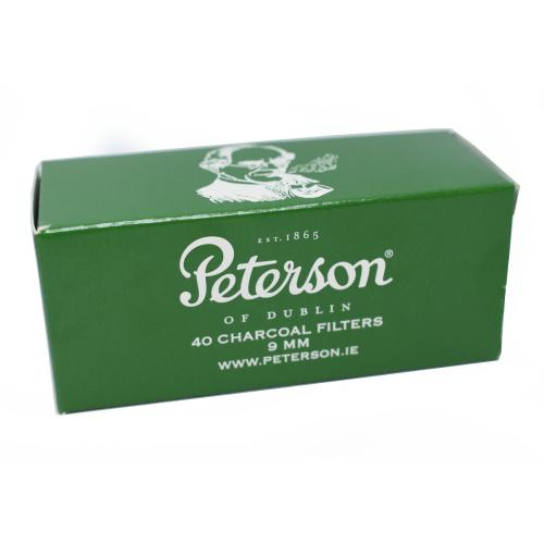 Peterson 40 Charcoal 9mm Pipe Filters