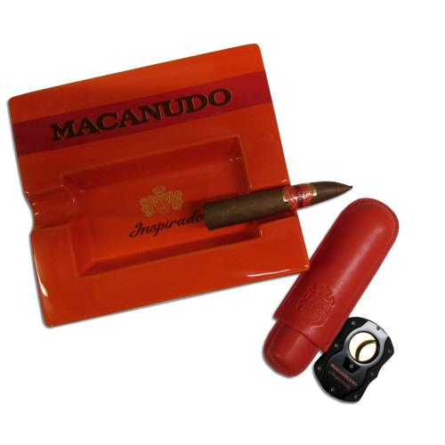 Macanudo Inspirado Orange Petit Piramide and Macanudo Accessories Sampler