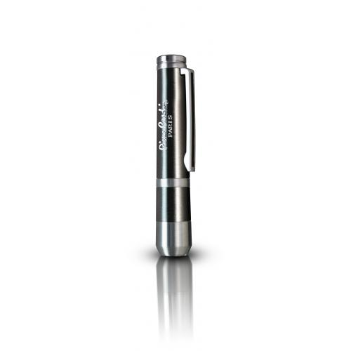 Pierre Cardin Chrome Black Cigar Punch