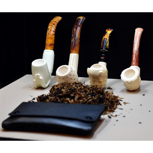 Liams Lucky Dip Pipe Tobacco Sampler - Meerschaum Pipes  & Pouch