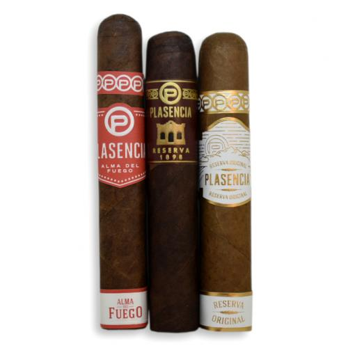 Plasencia Robusto Selection Sampler - 3 Cigars
