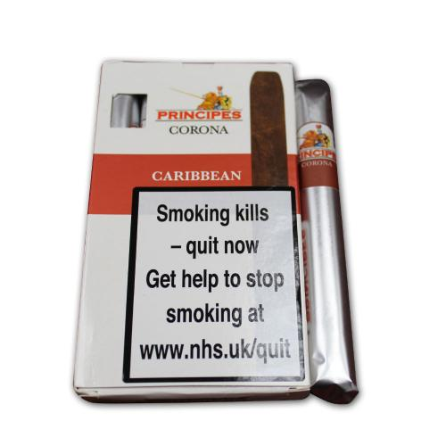 La Aurora Principes Corona Caribbean Cigar - Pack of 5
