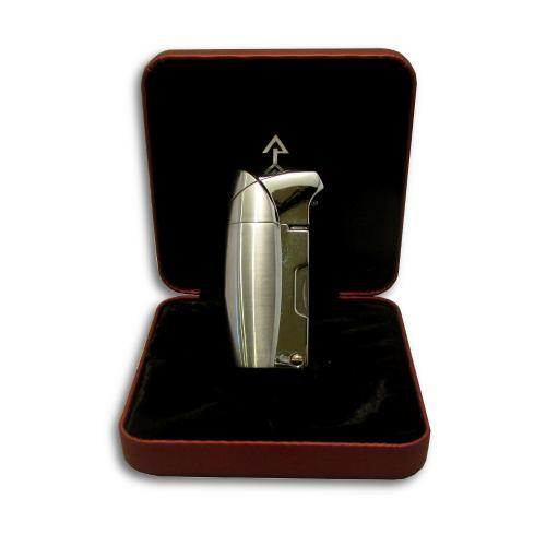 Promise Earl Pipe Lighter - Chrome