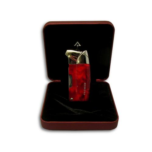 Promise Pipe Lighter - Red Grain