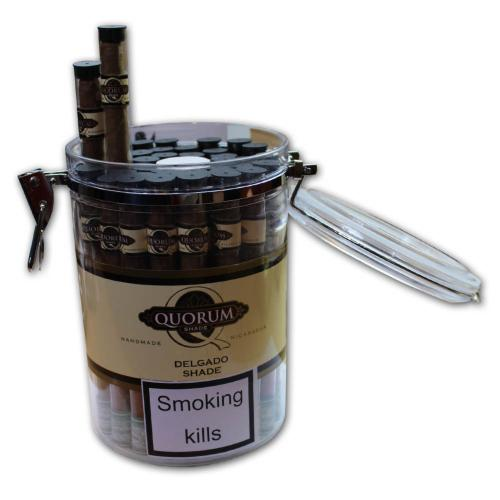 Quorum Delgado Tubed Cigar - Jar of 40
