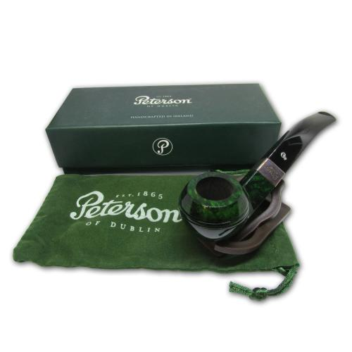 Peterson Racing Green Fishtail Pipe - 080s