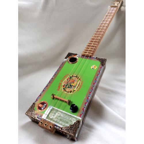 Handcrafted Ramon Allones Cigar Box Guitar