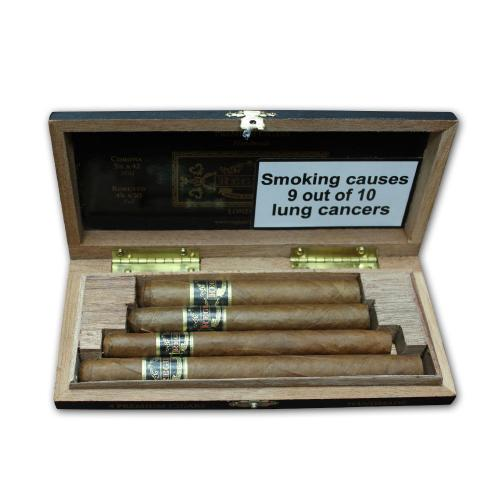 Regius Selection Sampler – 4 premium cigars gift pack
