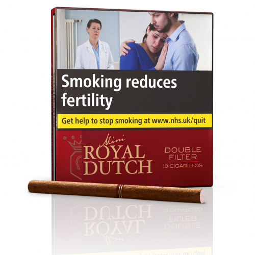 Ritmeester Royal Dutch Double Filter Red - Pack of 10