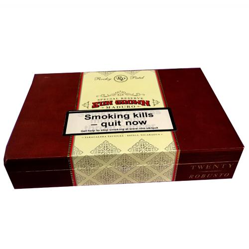Empty Rocky Patel Sun Grown Robusto Cigar Box