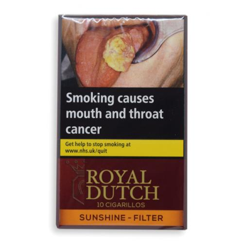 Ritmeester Royal Dutch Sunshine Cigarillos - Pack of 10