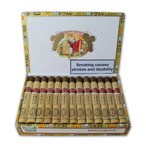Romeo y Julieta Cedros de Luxe No. 2 Cigar - Box of 25