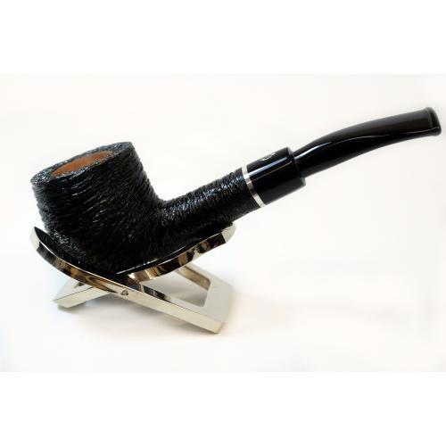 Savinelli Otello Rustic Pot Semi Bent 121 6mm Pipe (SAV258)