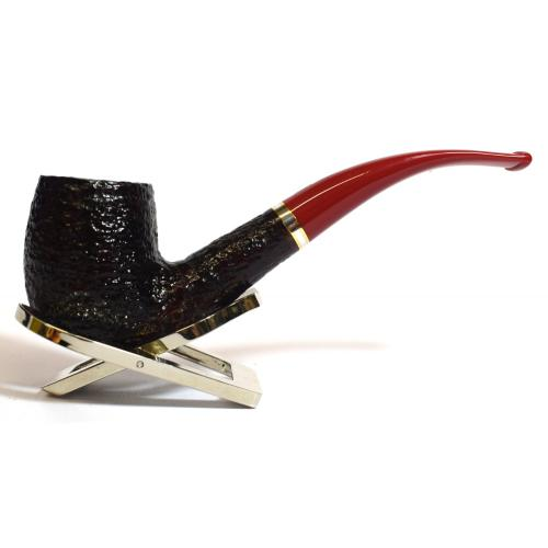Savinelli St Nicholas 2019 606 Bent 9mm Filter Fishtail Pipe (SAV378)