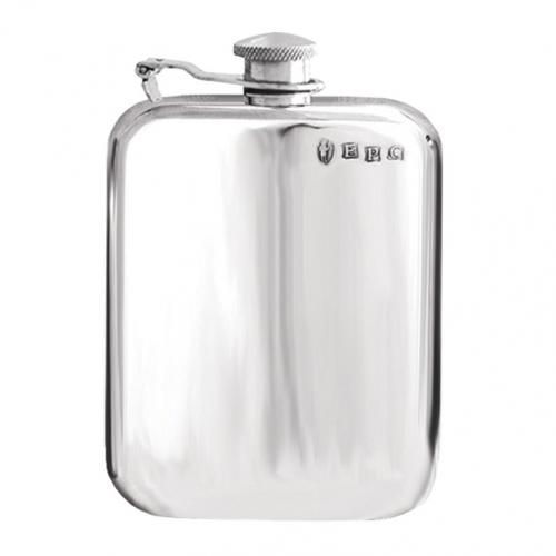 6oz Captive Top Pewter Flask - SF435CT
