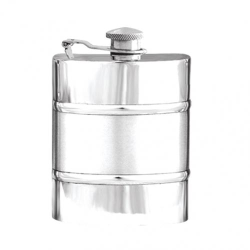 6oz Captive Top Pewter Flask - SF551CT