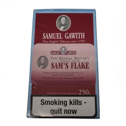 Samuel Gawith Mayors Collection Sams Flake Pipe Tobacco 250g Box