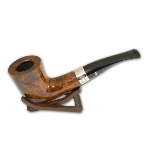 Peterson Sherlock Holmes MyCroft Dark Fishtail 9mm Pipe