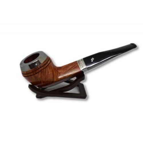 Peterson Silver Cap Silver Mounted Natural 408 Pipe