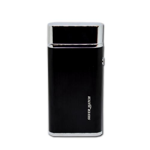 Silver Match Balham Black Electronic Arc Lighter