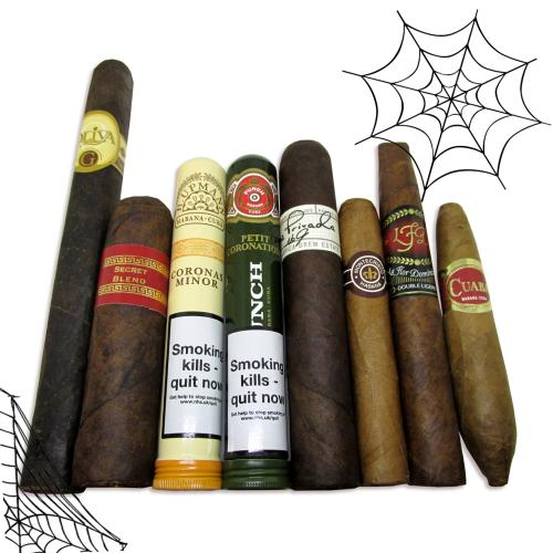 The Split Halloween Sampler - 8 Cigars