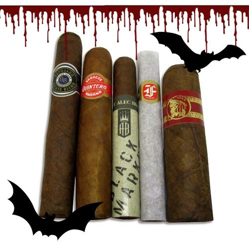 The Spooky Smokes Halloween Sampler - 5 Cigars