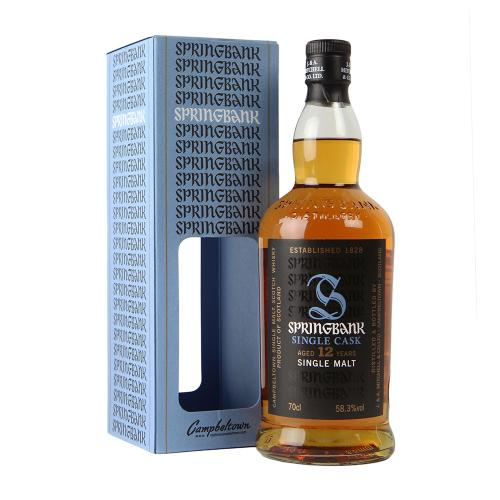 Springbank 12 Year Old Port Pipe Whisky 70cl, 58.3%
