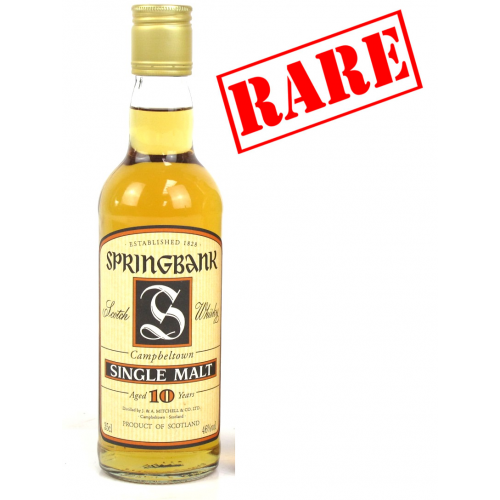 Springbank 10 Year Old Vintage Half Bottle Single Malt - 35cl 46%
