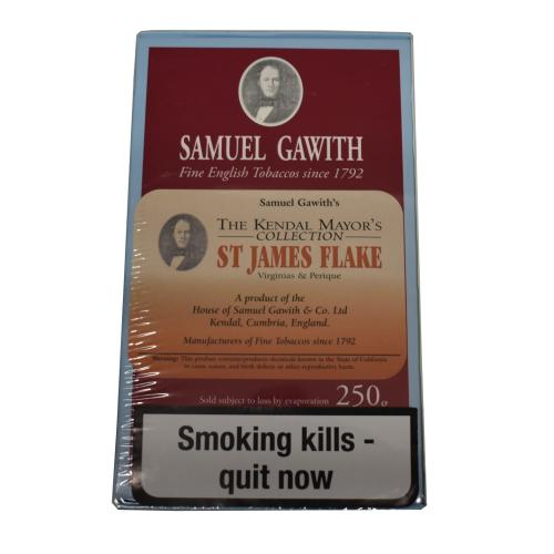 Samuel Gawith Mayors St James Flake Pipe Tobacco 250g Box