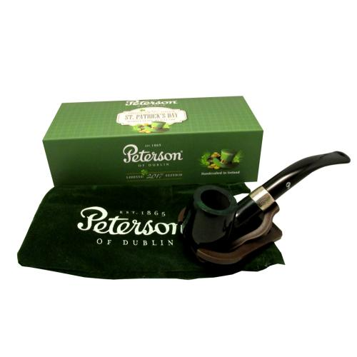 Peterson St Patricks Day 2017 Limited Edition Fishtail Pipe 65 Smooth