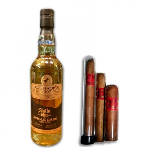 Stalla Dhu Auchroisk Whisky and Inka Secret Blend Red Sampler