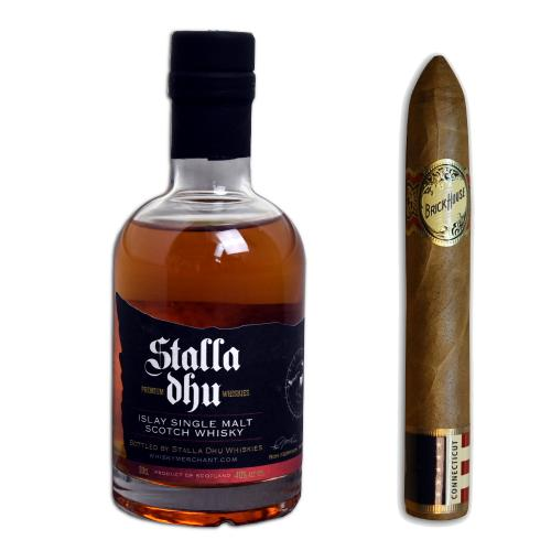 Stalla Dhu Islay Whisky + Brick House Double Connecticut Short Torpedo Pairing