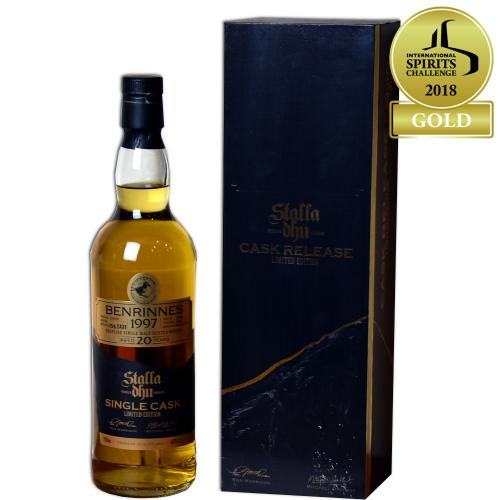 Stalla Dhu Single Cask Benrinnes 20 Year Old Single Malt Scotch Whisky - 70cl 47