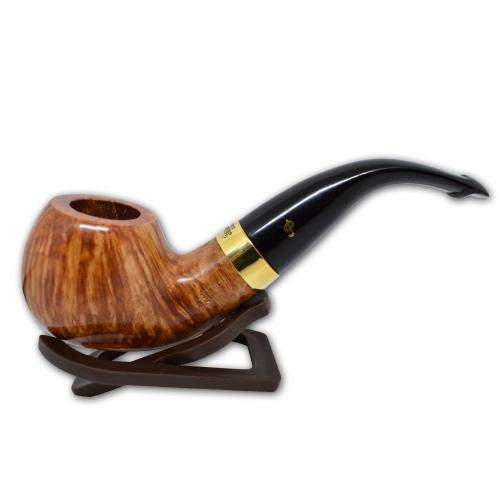 Peterson Natural Straight Grain Gold Mount XL02 Pipe (PE544)