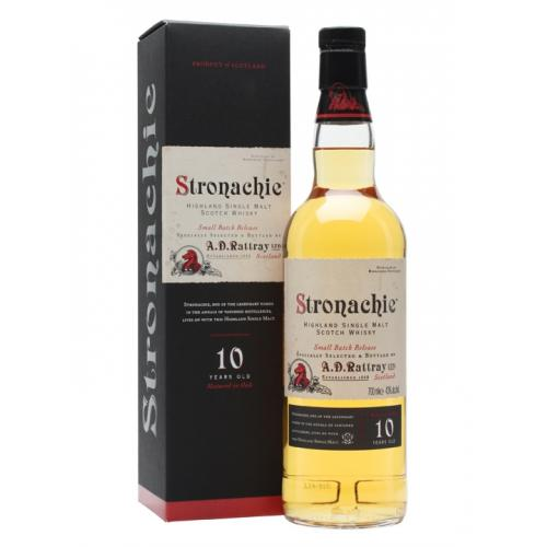 Stronachie 10 Year Old Single Malt Scotch Whisky - 70cl 43%