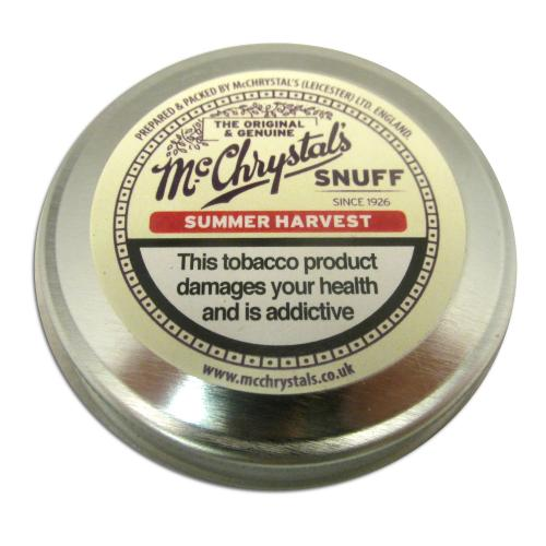 McChrystal\'s Summer Harvest Snuff - Large Tin - 8.75g