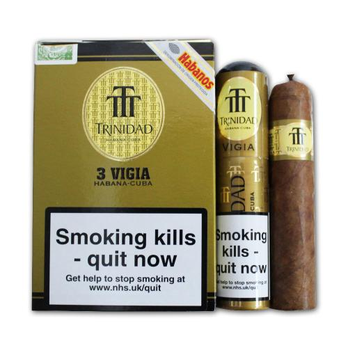 Trinidad Vigia Tubed Cigar - Pack of 3