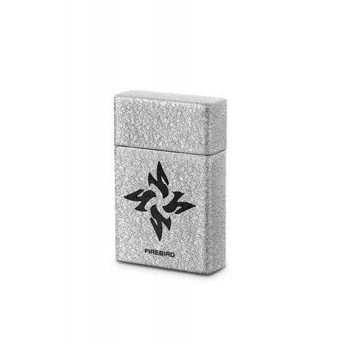 Firebird Fury Jet Flame Lighter - Silver (Discontinued)