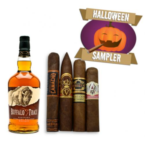 Variety is the Spice of Life Bourbon Whisky and Mixed Cigar Halloween Pairing