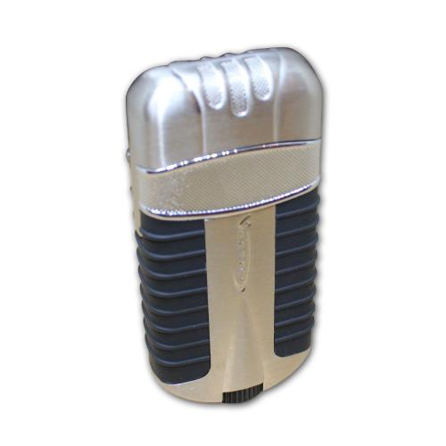 Vector Exlade Double Torch Lighter - Nickle Satin
