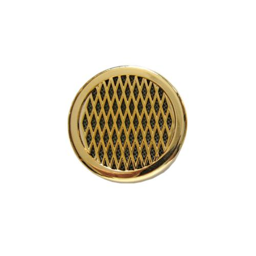 Bargain Round Humidifier – Gold – up to 25 cigars capacity