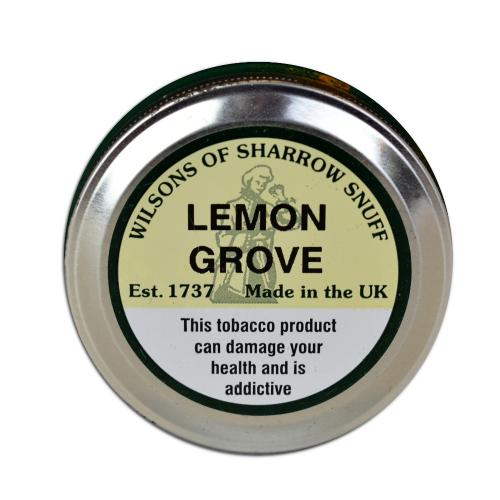 Wilsons of Sharrow - Lemon Grove Snuff - Large Tin - 20g