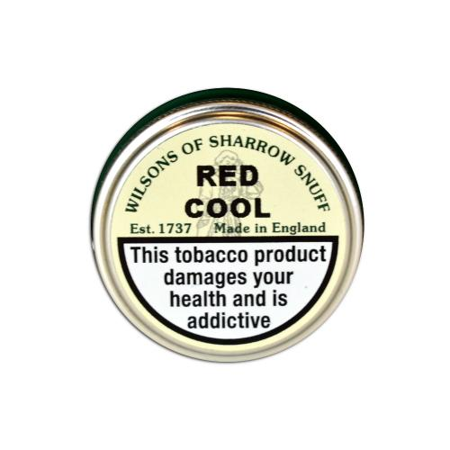 Wilsons of Sharrow - Red Cool - Small Tin - 5g (END OF LINE)
