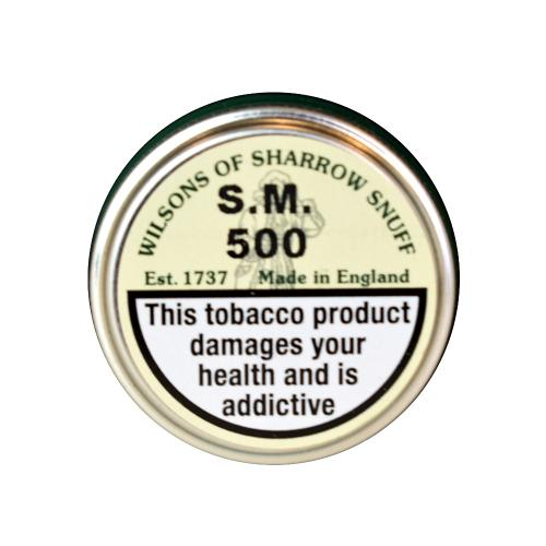 Wilsons of Sharrow Snuff - S.M 500 - Small Tin - 5g