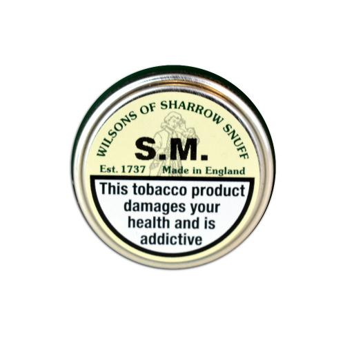 Wilsons of Sharrow Snuff - S.M - Small Tin - 5g