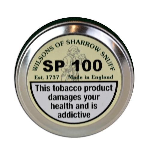 Wilsons of Sharrow Snuff - SP 100 - Large Tin - 20g