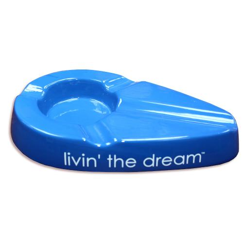 Xikar Livin\' The Dream Four Cigar Rest Ashtray - Blue